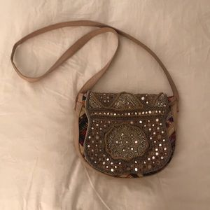 Free People Boho Leather Crossbody